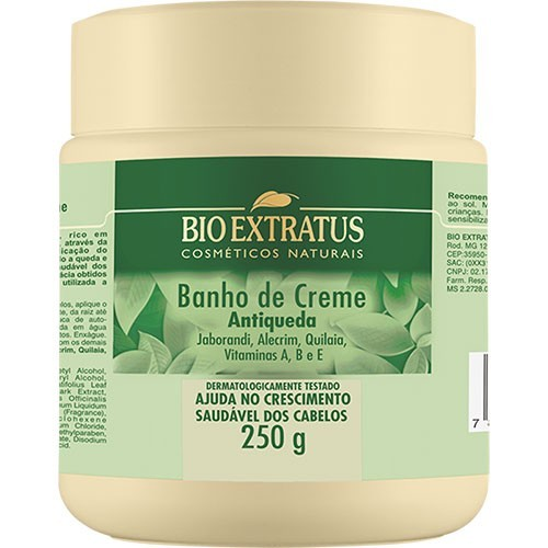 Bio Extratus Jaborandi Banho de Creme 250g