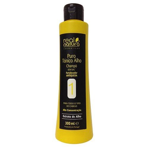 Real Natura Puro Alho Shampoo 300ml