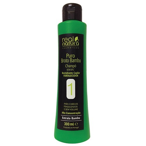 Real Natura Broto Bambu Shampoo 300ml