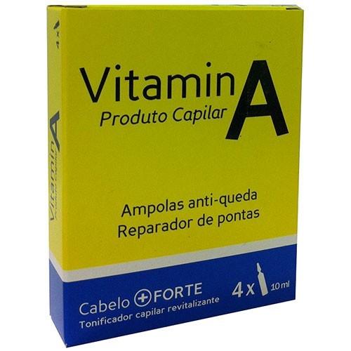 Real Natura Vitamina A Ampolas Cx. 4