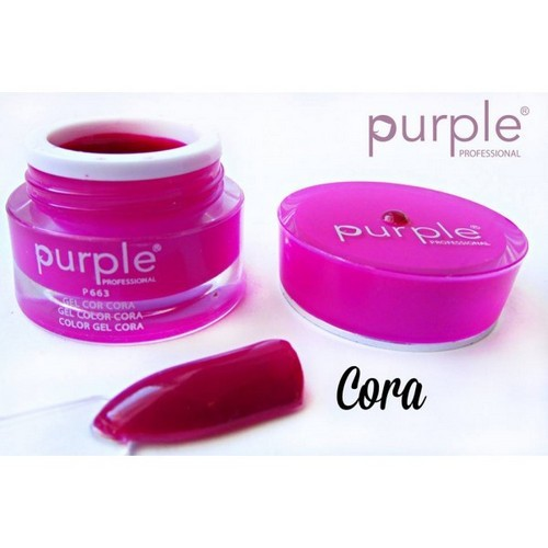 Purple Gel de Cor Cora