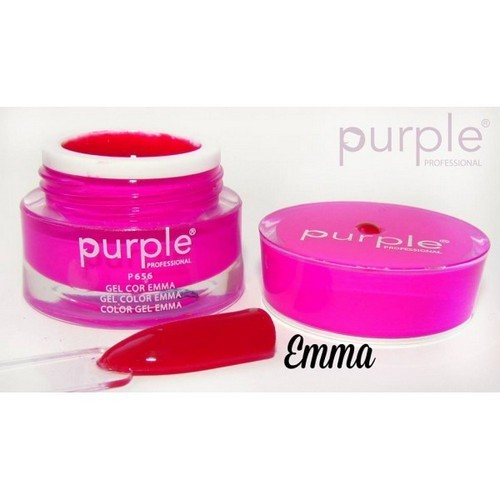 Purple Gel de Cor Emma