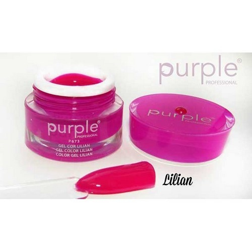 Purple Gel de Cor Lilian