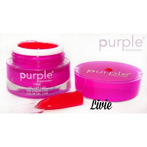 Purple Gel de Cor Livie