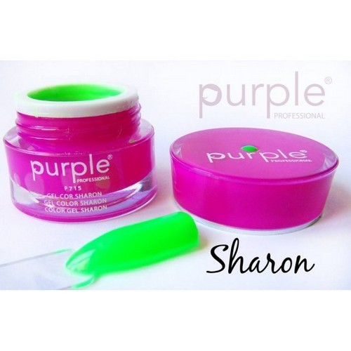 Purple Gel de Cor Sharon