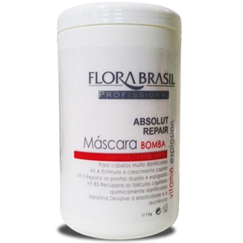 Flora Brasil Bomba Máscara 1kg