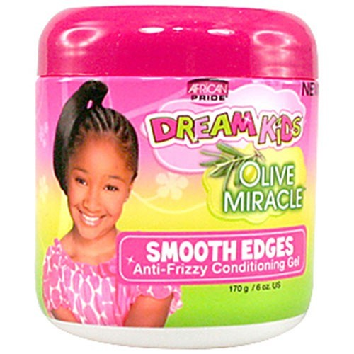 African Pride Dream Kids Olive Miracle Smooth Edges 170g