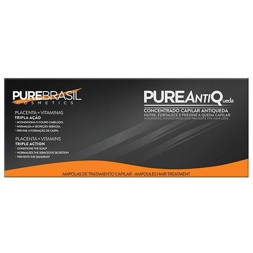 PureBrasil Pure Anti-Queda Ampolas de Tratamento Capilar