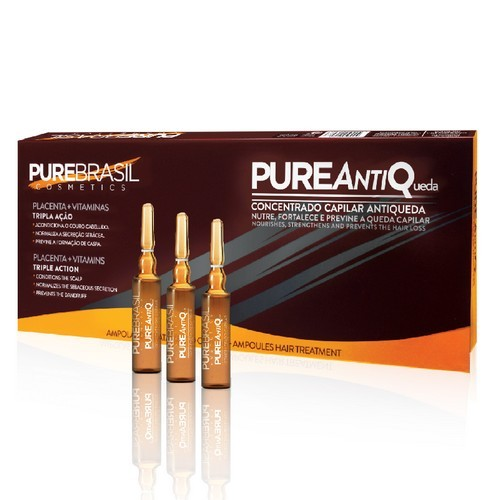 Pure Brasil Ampola Placenta+Vitaminas 10ml