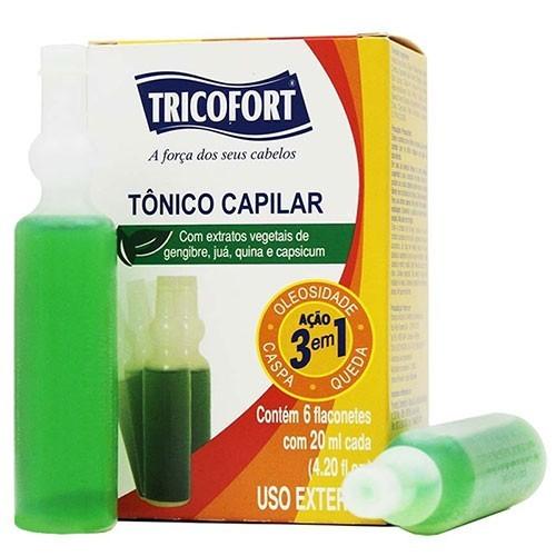 Tricofort Tónico Capilar 20ml Cx 6 unid.