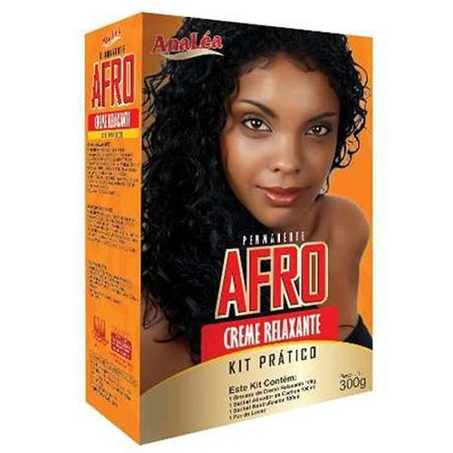 AnaLéa Afro Permanente Creme Relaxante