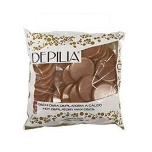 Cera Depilia em Disco Chocolate Kg