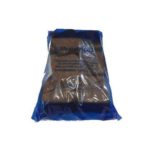Cera Depilplas Chocolate 1kg