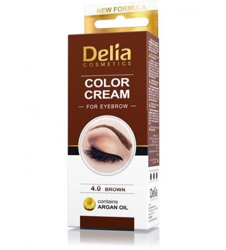 Color Cream Délia Sobrancelhas Castanho Médio 2un de 15ml