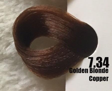 Extremo Tinta de Argan Coppers 7.34 Louro Dourado Cooper 100 ml
