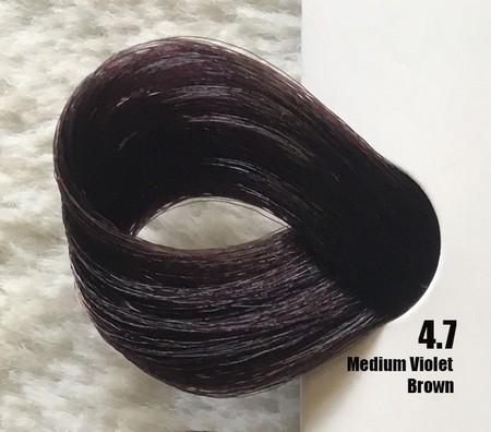 Extremo Tinta de Argan Violeta 4.7 Castanho Violeta 100 ml