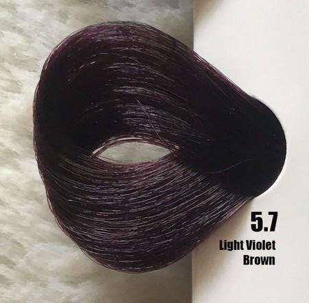 Extremo Tinta de Argan Violeta 5.7 Castanho Claro Violeta 100 ml