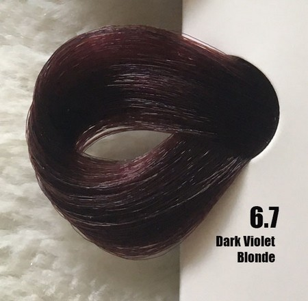 Extremo Tinta de Argan Violeta 6.7 Louro Escuro Violeta 100 ml