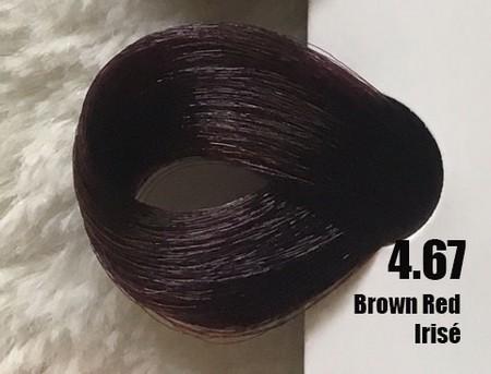 Extremo Tinta de Argan 4.67 Castanho Vermelho Irisé 100 ml