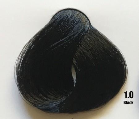 Raywell Tinta Sem Amonia 1.0 Preto 100ml