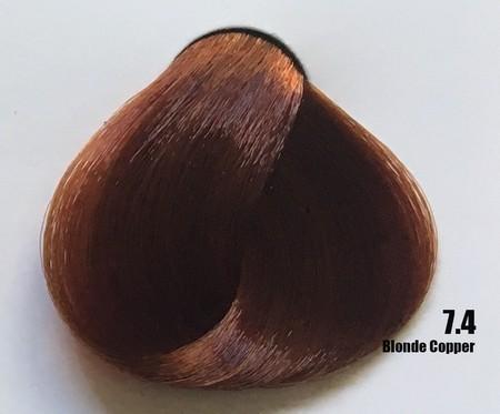 Raywell Tinta Sem Amonia 7.4 Louro Cobre 100ml
