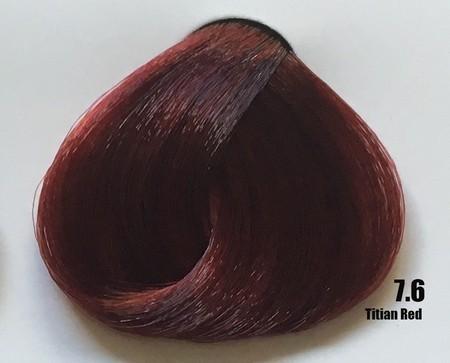 Raywell Tinta Sem Amonia 7.6 Vermelho Tiziano 100ml