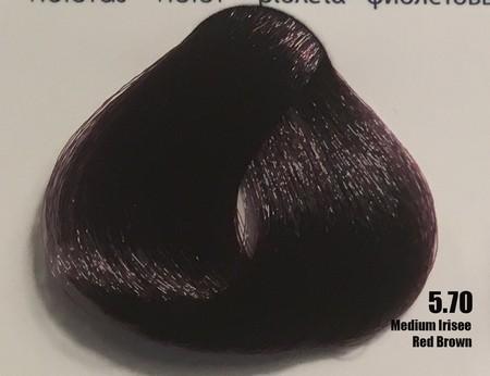 Raywell Tinta Sem Amonia 5.70 Castanho Vermelho Violeta 100ml