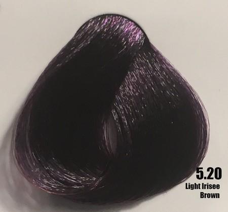 Raywell Tinta Sem Amonia 5.20 Castanho Claro Violeta 100ml