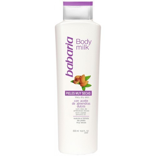 Babaria Body Milk Amendoa 500ml