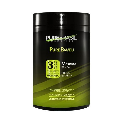Pure Brasil Bambu Máscara 1kg