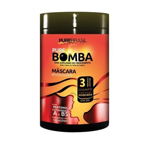 Pure Brasil Bomba Máscara 1kg