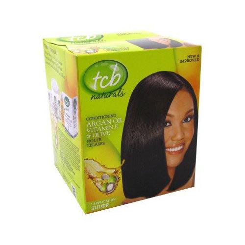 Tcb Relaxer Argan Oil e Olive Super
