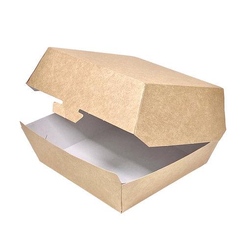 Caixa de Hambúrguer Pequena Kraft- Cx. completa 450 unidades