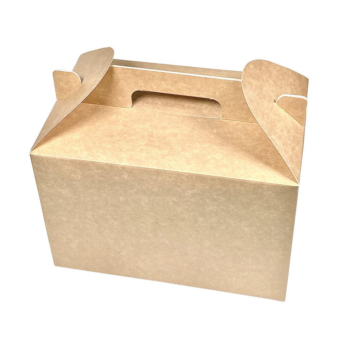 Caixa para Menu Grande Kraft  - Pacote 25 unidades