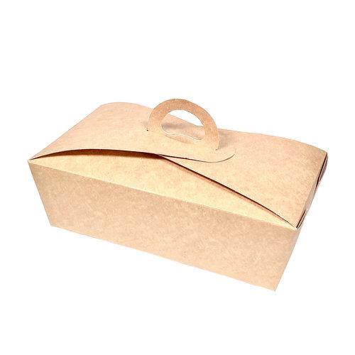 Caixa para Menu Grande Com Asa 1500ml - Pacote 25 unidades