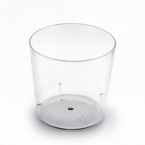Copos Plastico Caipirão 280ml. (Cristal) PS Emb.c/100 Unidades