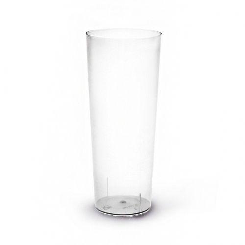 Copo Plastico TUBO 200ml.  (Flexivel) ,PP Emb.c/100 Unidades