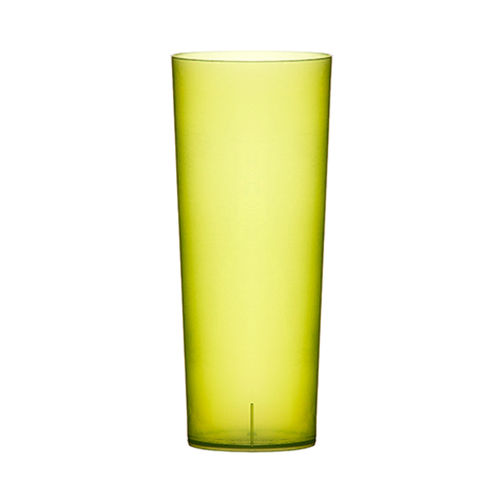 Copo PlasticoTUBO 200ml.  (Flexivel) ,PP VERDE- Cx. Completa 840 unidades