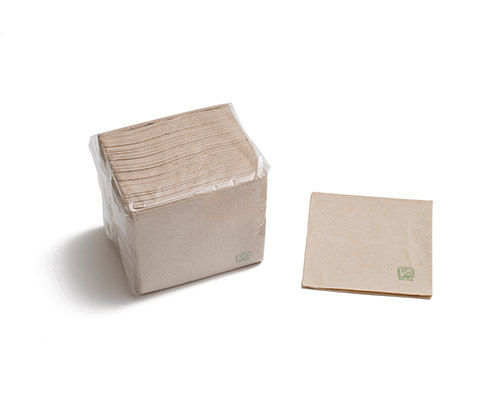 Guardanapos Papel 2 capas 20x20cm ECO - manga 100 unidades