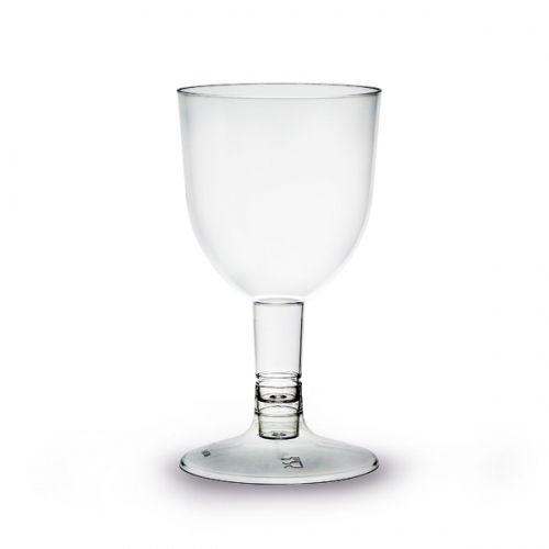 Copo Plastico Vinho 160ml PS - Cx. Completa 200 unidades