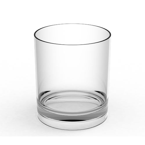 WHISKY Cups 350ml on the rocks UNBREAKABLE PC box 12 uni.