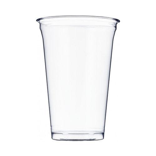 Copo Plástico PET 650ml - Aferidos a 500ml - s/Tampa - Cx Completa 800 unidades